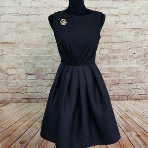 GIAMBATTISTA VALLI Couture Black Dress